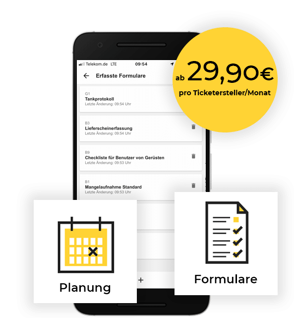 Mängelmanagement App